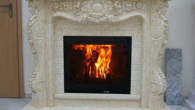 Камин эффективная система отопления загородного дома