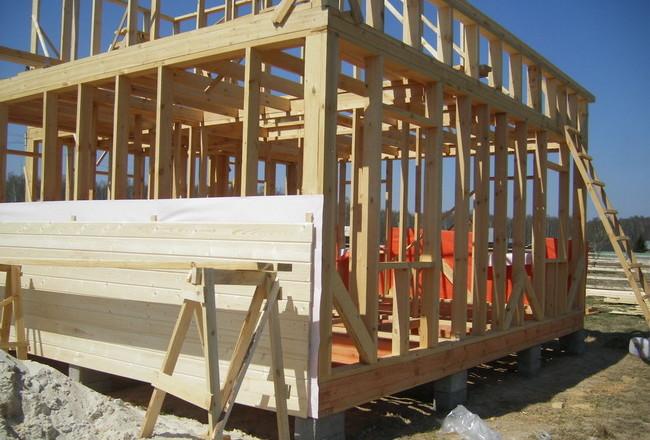 Этапы строительства каркасных домов
